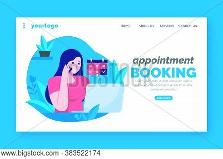 21_appointment Booking - Landing Page