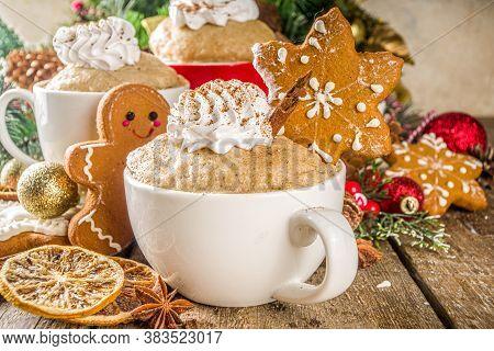 Christmas Gingerbread In Mug