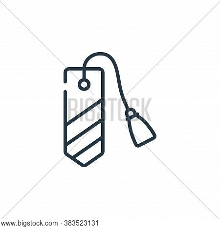 bookmark icon isolated on white background from books and literature collection. bookmark icon trend