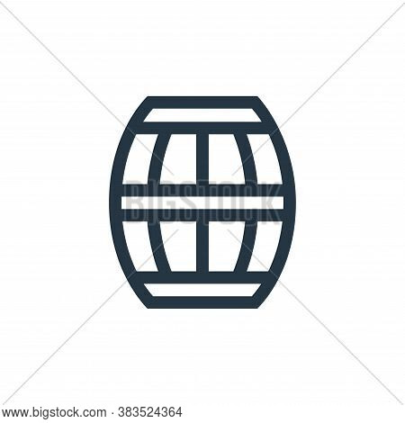 barrel icon isolated on white background from handcrafts collection. barrel icon trendy and modern b