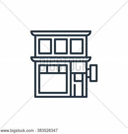coffee shop icon isolated on white background from holland collection. coffee shop icon trendy and m