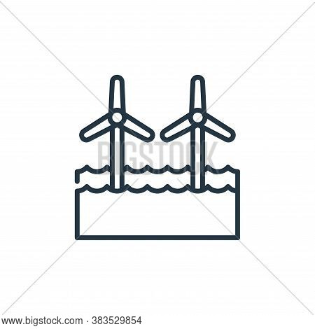 wind farm icon isolated on white background from holland collection. wind farm icon trendy and moder