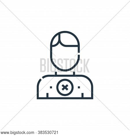 supporter icon isolated on white background from voting elections collection. supporter icon trendy