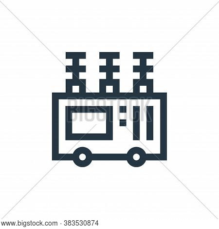 transformer icon isolated on white background from machinery collection. transformer icon trendy and