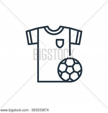 football icon isolated on white background from holland collection. football icon trendy and modern