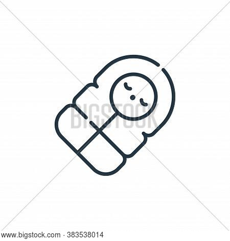 sleeping bag icon isolated on white background from adventure collection. sleeping bag icon trendy a