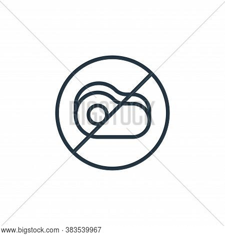 meat icon isolated on white background from coronavirus collection. meat icon trendy and modern meat