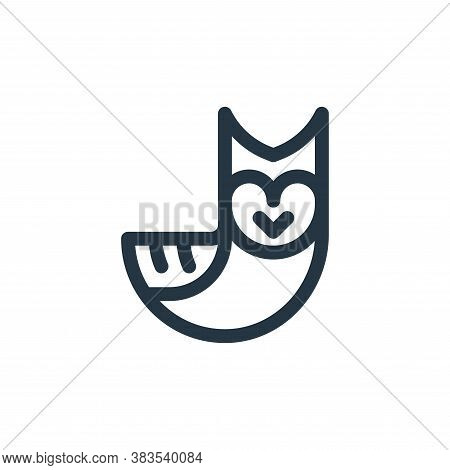 owl icon isolated on white background from animal and nature collection. owl icon trendy and modern