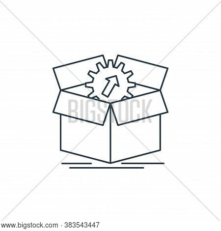 upload icon isolated on white background from analytic investment and balanced scorecard collection.