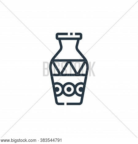 vase icon isolated on white background from furniture collection. vase icon trendy and modern vase s