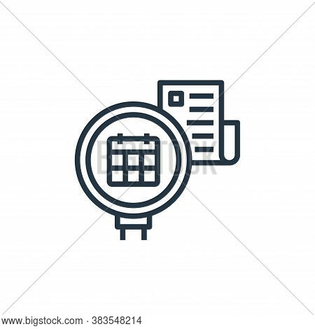 check icon isolated on white background from detecting fake news collection. check icon trendy and m
