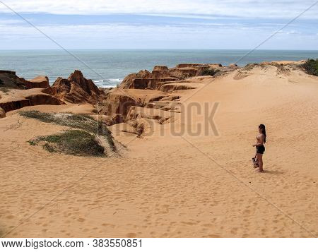 Northeastern Brazilian - Bebibe, Ceara, Brazil Cliffs - Beaches And Vacations In Brazil - Travel And