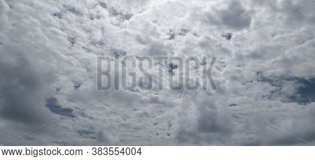 Dramatic Storm Sky Background.dramatic Storm Sky Background. Wide Photo.