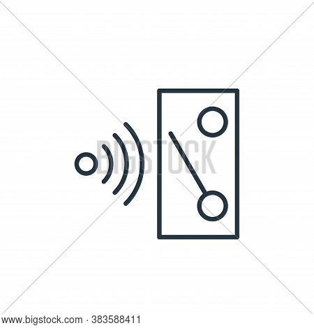 wireless icon isolated on white background from smarthome collection. wireless icon trendy and moder