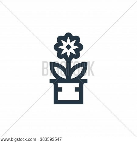 blossom icon isolated on white background from mothers day collection. blossom icon trendy and moder