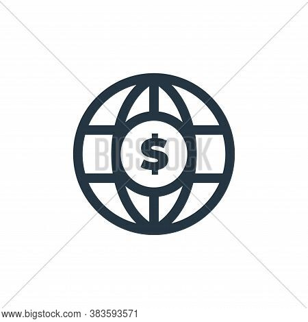 economy icon isolated on white background from economy collection. economy icon trendy and modern ec