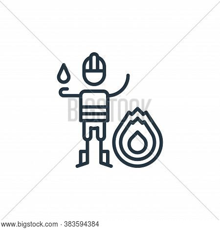 fire icon isolated on white background from climate change collection. fire icon trendy and modern f