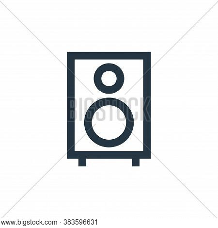 sound system icon isolated on white background from electronic collection. sound system icon trendy