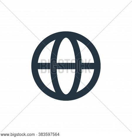 web icon isolated on white background from basic ui collection. web icon trendy and modern web symbo