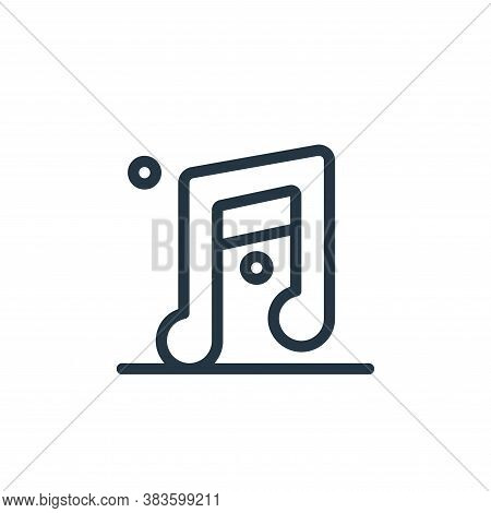 music icon isolated on white background from miscellaneous collection. music icon trendy and modern