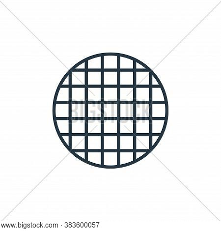 waffle icon isolated on white background from bakery collection. waffle icon trendy and modern waffl
