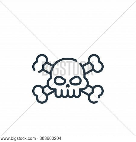 virus icon isolated on white background from programming collection. virus icon trendy and modern vi