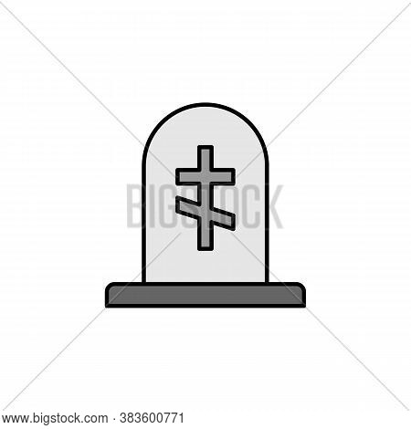 Grave, Death Outline Icon. Detailed Set Of Death Illustrations Icons. Can Be Used For Web, Logo, Mob