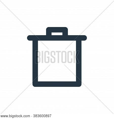 delete icon isolated on white background from basic ui collection. delete icon trendy and modern del