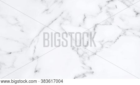 Natural White Marble Stone Texture For Background Or Luxurious Tiles Floor And Wallpaper Decorative