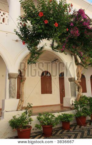 Monastery In Panormitis, Greece