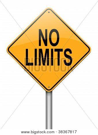 No Limits Concept.