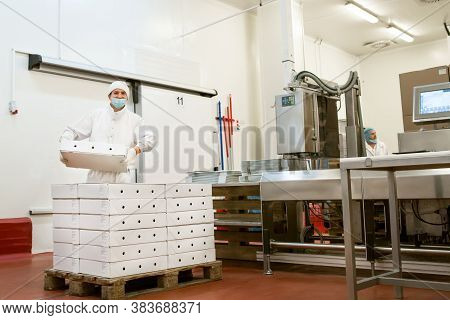 Packing Paper Box For Food Product Industrial, High Technology Manufacturing Process.packing Goods I