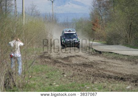 Bmw Rally Car Jumping