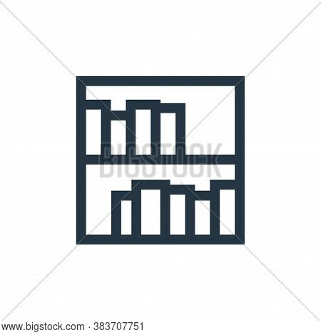 library icon isolated on white background from education collection. library icon trendy and modern