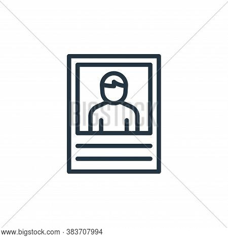 wanted icon isolated on white background from crime collection. wanted icon trendy and modern wanted