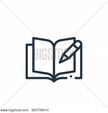 journal icon isolated on white background from books collection. journal icon trendy and modern jour