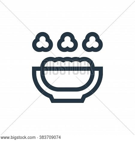 popcorn icon isolated on white background from baby shower collection. popcorn icon trendy and moder