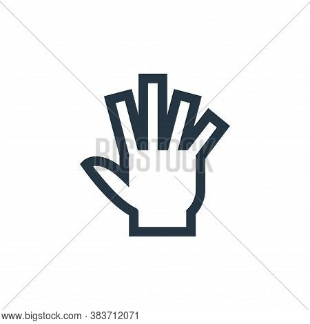 hand tool icon isolated on white background from vector editing collection. hand tool icon trendy an