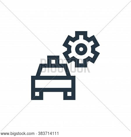 repair icon isolated on white background from taxi service collection. repair icon trendy and modern