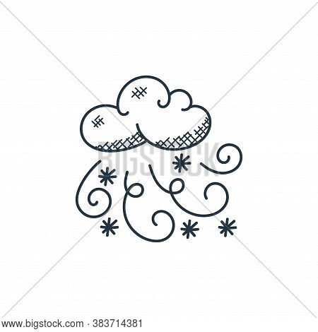 winter icon isolated on white background from weather collection. winter icon trendy and modern wint