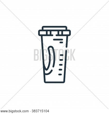 soda icon isolated on white background from fast food collection. soda icon trendy and modern soda s