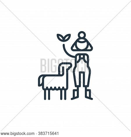 agriculture icon isolated on white background from climate change collection. agriculture icon trend