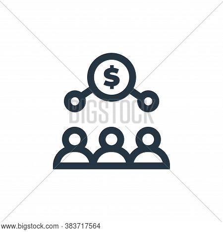 money exchange icon isolated on white background from economy collection. money exchange icon trendy