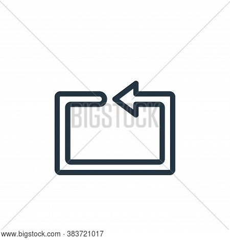 repeat icon isolated on white background from miscellaneous collection. repeat icon trendy and moder