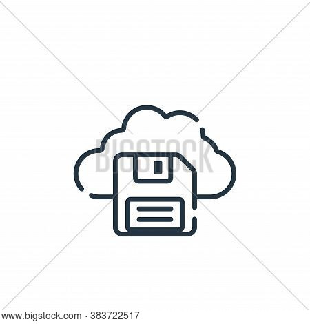 save icon isolated on white background from programming collection. save icon trendy and modern save