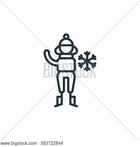 snow icon isolated on white background from climate change collection. snow icon trendy and modern s