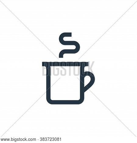 coffee cup icon isolated on white background from mothers day collection. coffee cup icon trendy and