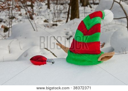 Elf Hat Left Behind