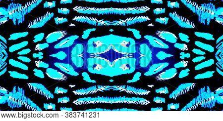 Trendy Watercolor Design. Multicolor Animal Prints. Colorful Seamless African. Skin Jaguar. Multicol