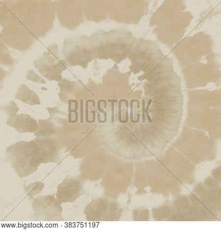 Faded Tye Die Shirt. Abstract Grunge Background. 1970s Design Textile. Papyrus Print. Pastel Batik P